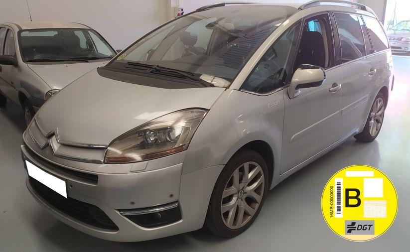 Nueva Recepción: Citroën C4 Grand Picasso 2.0 HDi 16V 140 CV Exclusive 7 Plazas. Único Propietario, Revisiones Selladas. Garantía 12 Meses.