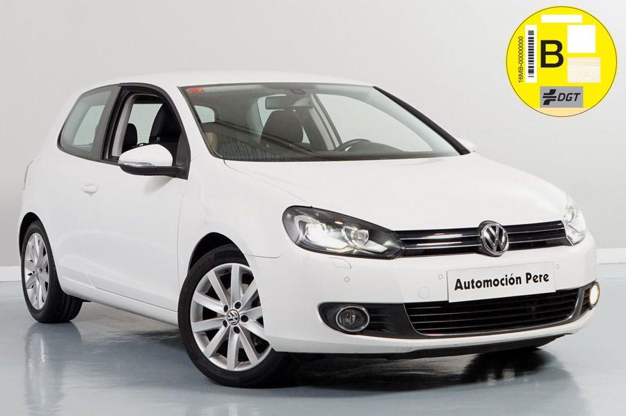 Volkswagen Golf VI 2.0 TDI 140 CV Sport. Única Propietaria. Pocos Kms. Revisiones Selladas. Equipado!