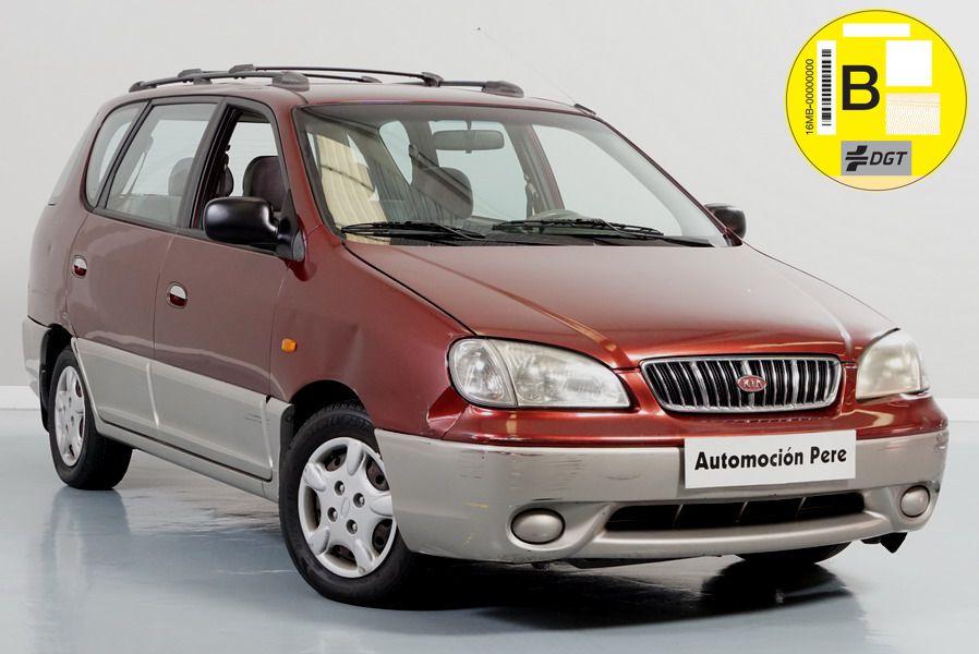 Kia Carens 1.8i 16V LS. Monovolumen Económico. Revisado. Garantía 12 Meses. OJO!! Con Daños.