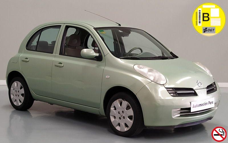 Nueva Recepción: Nissan Micra 1.2i Acenta. Único Propietario. Pocos Kms. Revisiones Selladas. Garantía 12 Meses.