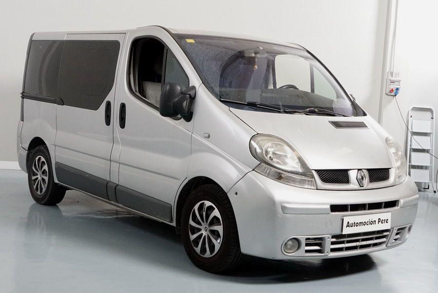 Nueva Recepción: Renault Trafic 2.5 dCi Automático/Sec. 7 Plazas. Camper. Muy Buen Estado.