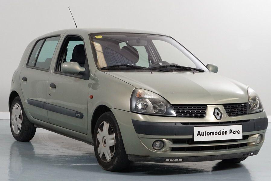 Nueva Recepción: Renault Clio 1.5 dCi 65 CV Authentique Confort. Económico. Revisiones Selladas y Garantía 12 Meses.