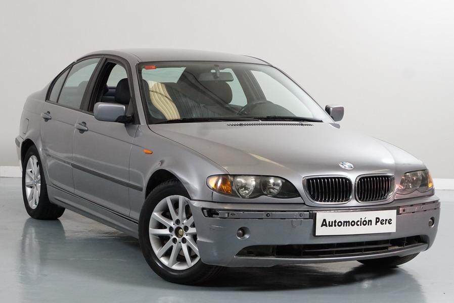 BMW 320d Automático/Sec. Ojo!! con Daños de Carroceria (Mirar Bien las Fotos)