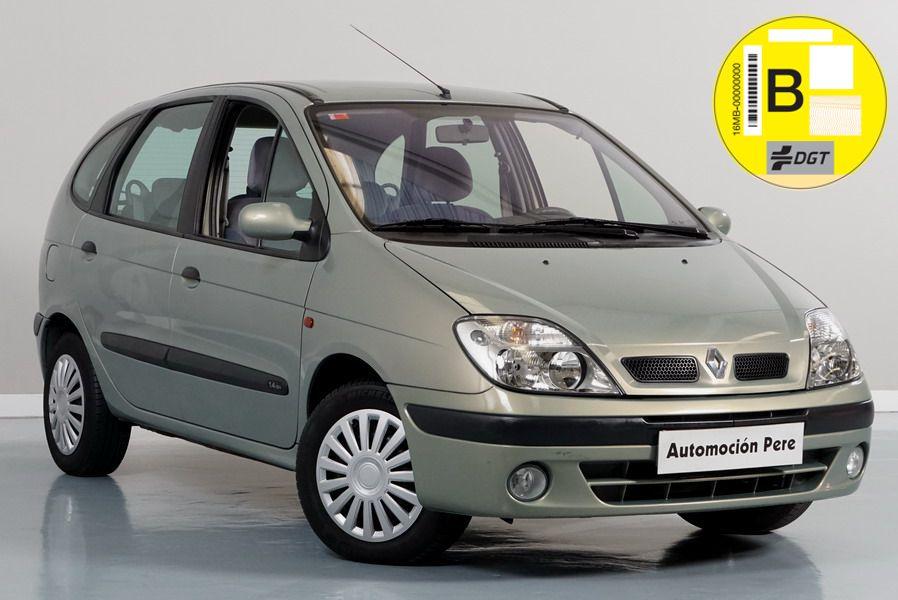 Renault Megane Scenic 1.4i 16V. Solo 53.000 Kms. Único Propietario. Revisiones Selladas. Garantía 12 Meses.