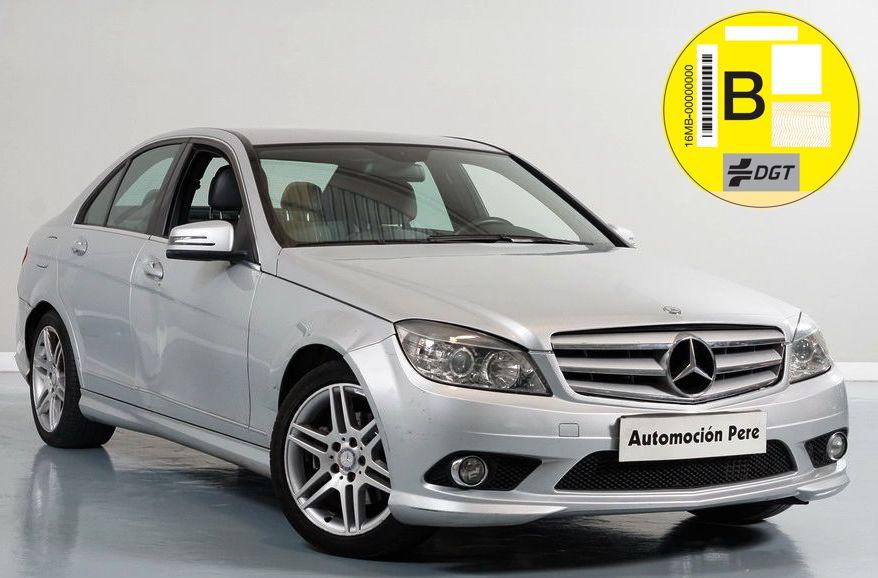 """Nueva Recepción: Mercedes-Benz C-Klasse C 200 CDI 136 CV Blue Efficency Avantgarde """"Look AMG"""" Libro Digital, Muy Buen Estado. """"Pendiente de Preparación"""""""