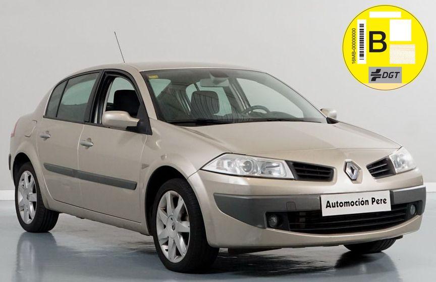 Renault Megane 1.5 dCi Dynamique 105 CV 6 Vel. Único Propietario. Pocos Kms. Revisiones Selladas.