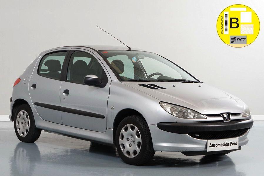 Nueva Recepción: Peugeot 206 1.4i X-Line. Solo 61.000 Kms. Revisado y con 12 Meses de Garantía.