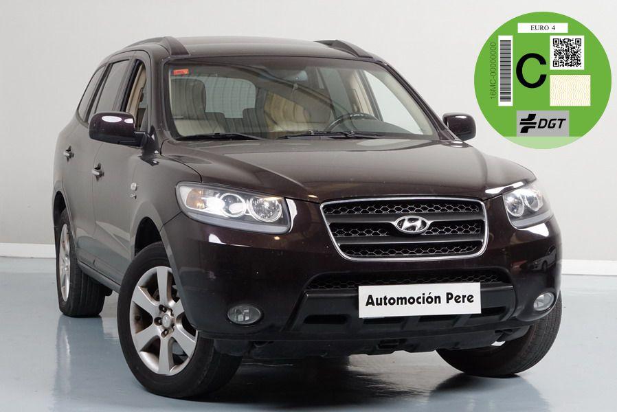 Nueva Recepción: Hyundai Santa Fe 2.7 V6 Style 4X4. Pocos Kms. Revisiones Selladas. Único Propietario!