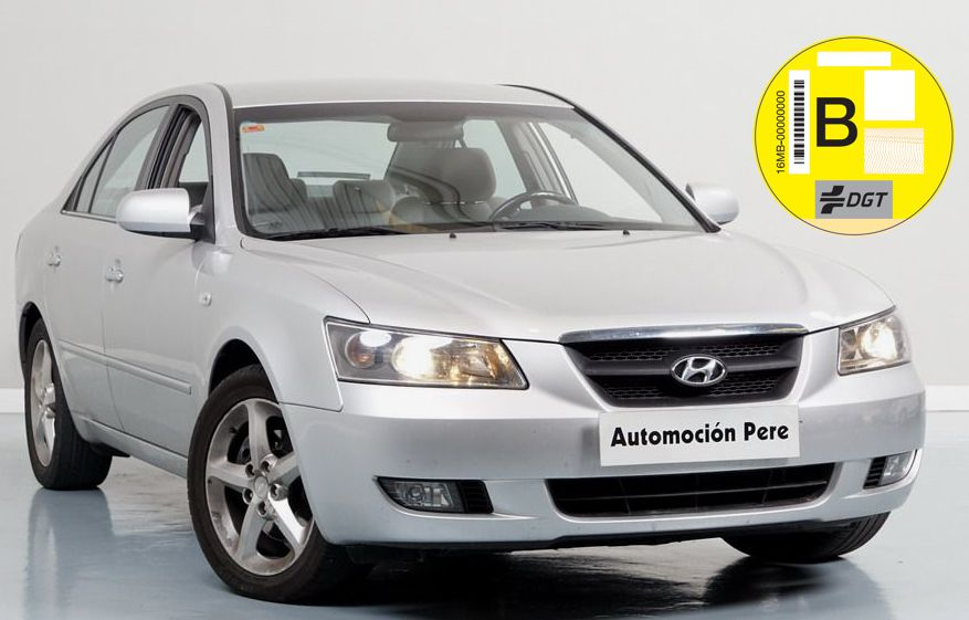 Nueva Recepción: Hyundai Sonata 2.0 CRDi Comfort I 140 CV. Único Propietario. Pocos Kms. Revisiones Selladas.