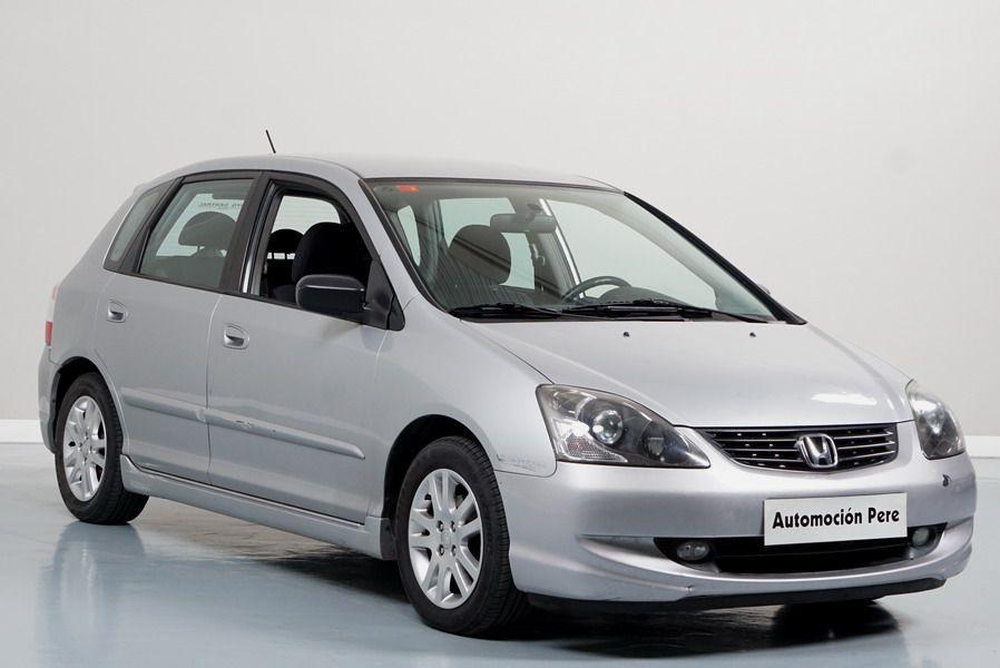 Nueva Recepción: Honda Civic 1.7 CDTi ES 100 CV. Único Propietario. Pocos Kms. Revisiones Selladas. Económico y con Garantía 12 Meses.