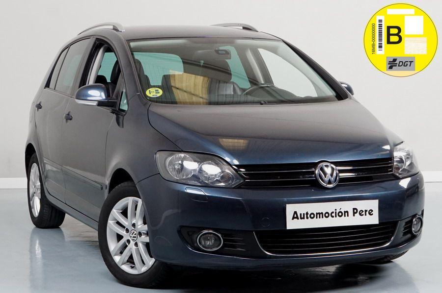 Volkswagen Golf Plus 1.6 TDi DSG 7 Vel. Sport Highline. Única Propietaria. Revisiones Selladas. Garantía 12 Meses. Equipado!