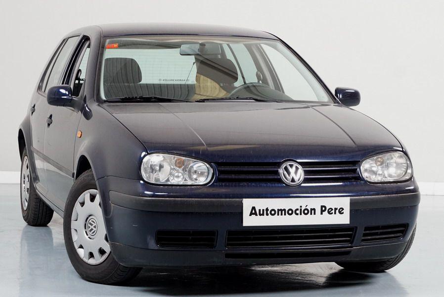 Nueva Recepción: Volkswagen Golf IV 1.4 Conceptline. Único Propietario. Pocos Kms. Económico y Garantía 12 Meses.