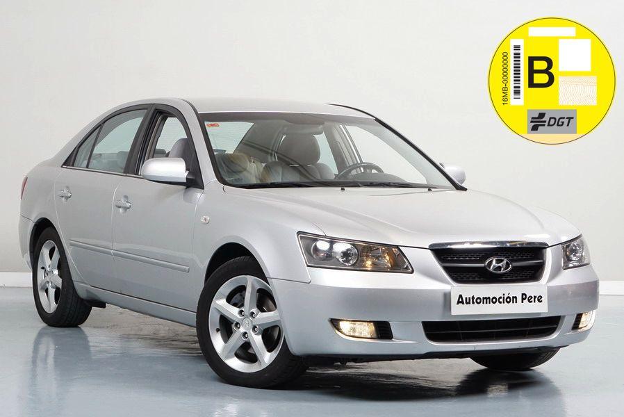 Hyundai Sonata 2.0 CRDi Comfort I 140 CV. Único Propietario. Pocos Kms. Revisiones Selladas.