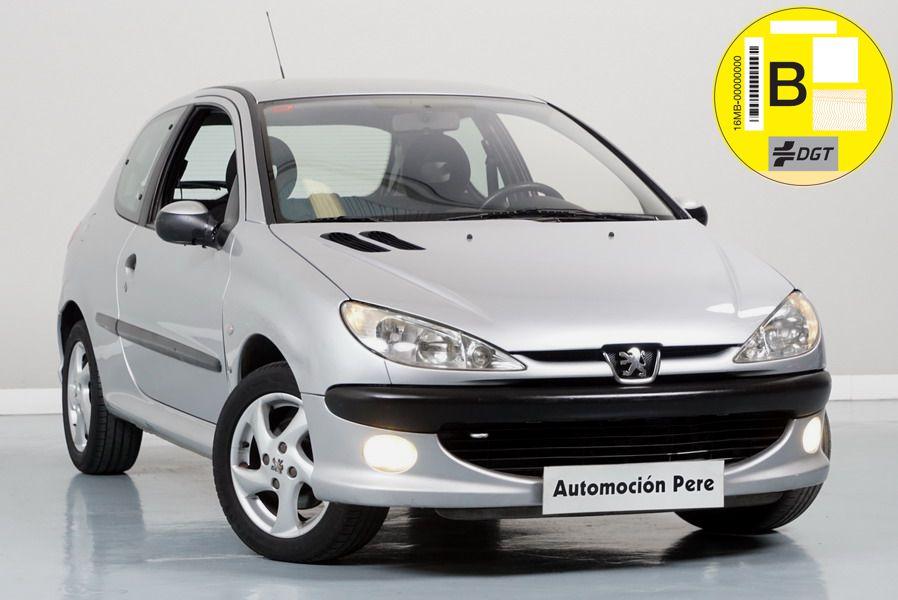 Peugeot 206 1.6i XS 110 CV. Solo 57.000 Kms. Revisiones Selladas. Único Propietario.