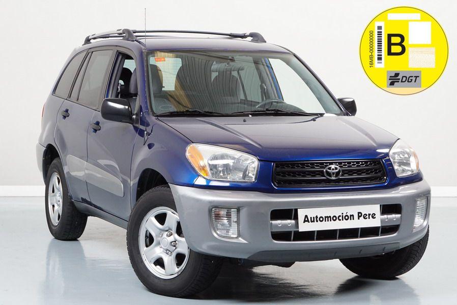 Toyota Rav4 2.0 VVT-i 150 CV 4x4. Automático. Único Propietario. Pocos Kms. Revisiones Selladas.