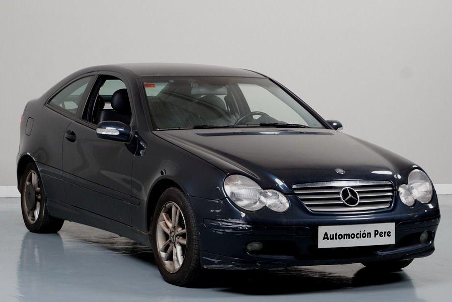 Nueva Recepción: Mercedes Benz C220 CDi Sportcoupé Automático. Único Propietario. Pocos Kms. Revisones Selladas. Garantía 12 Meses.