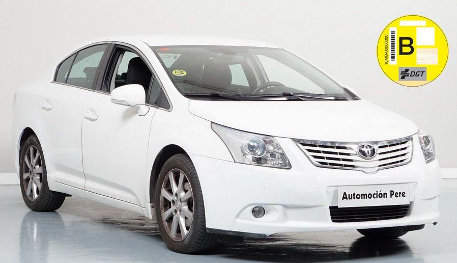 Nueva Recepción: Toyota Avensis 2.0 D-4D Advance. Único Propietario. Pocos Kms. Revisiones Selladas.