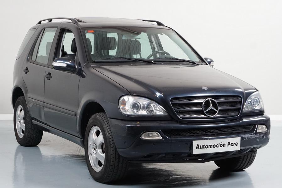 Nueva Recepción: Mercedes ML 270 CDi 163CV 6 Vel 4x4. Solo 87.466 Kms. Revisiones Selladas, Revisado. Garantía 12 Meses.