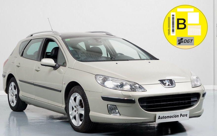 Nueva Recepción: Peugeot 407 SW 2.0 HDi 16V 136 CV 6 Vel. Sport Pack. Pocos Kms. Revisiones Selladas. Único Propietario!!
