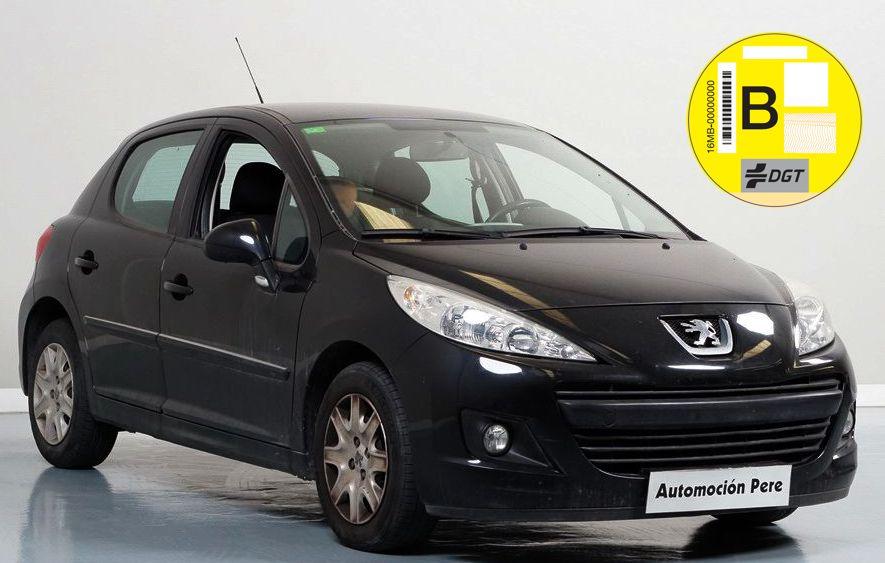 Nueva Recepción: Peugeot 207 1.4 HDi 70 CV. Pocos Kms. Revisiones Selladas. Garantía 12 Meses.