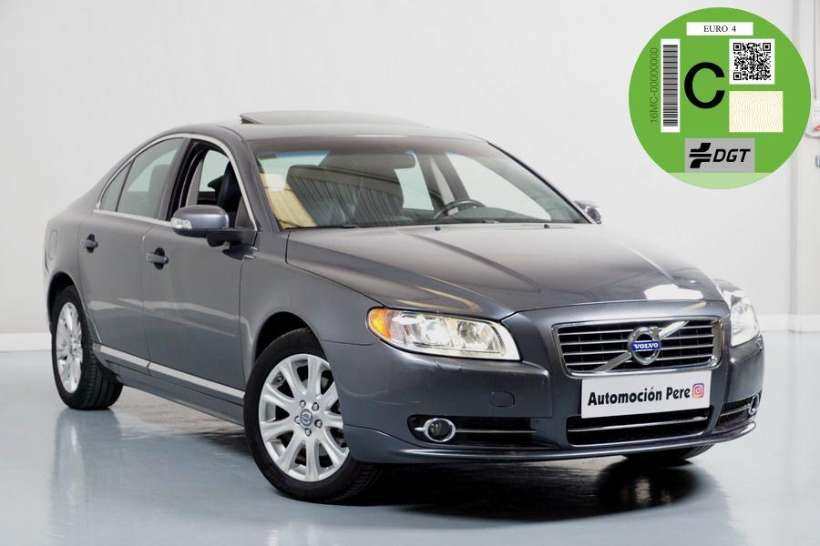 Nueva Recepción: Volvo S80 3.2i 240 CV Aut/Sec.. Summum. Pocos Kms. Equipado! Único Propietario.