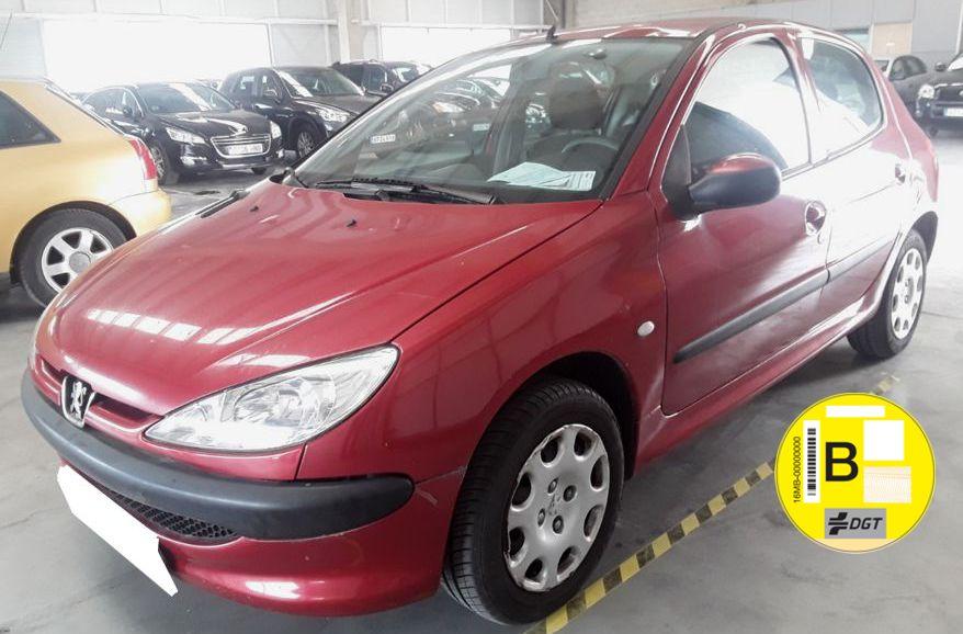 Próximamente: Peugeot 206 1.4 X-Line. Único Propietario. Solo 50.000 Kms. Revisiones Selladas.