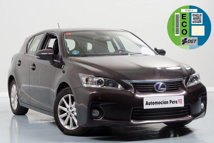 Nueva Recepción: Lexus CT 200H Hybrid Drive. Único Propietario. Pocos Kms. Mantenimiento Oficial.