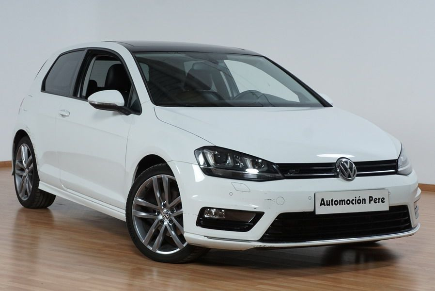 volkswagen golf vii 2 0 tdi r line 150 cv 6 vel. Black Bedroom Furniture Sets. Home Design Ideas
