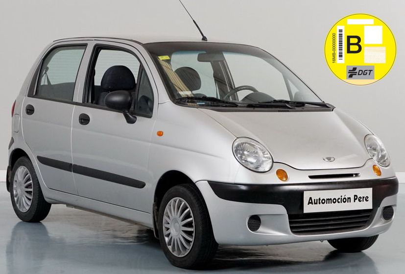 Nueva Recepción: Daewoo Matiz 0.8i SE 50 CV. Solo 45.887 Kms. Revisiones Selladas. Económico, Revisado y Garantía 12 Meses.