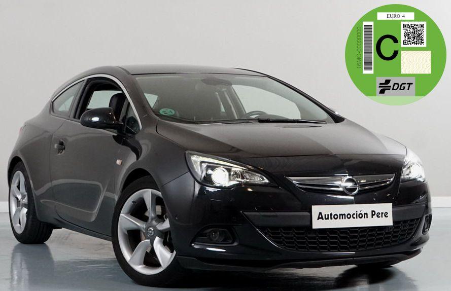 Opel Astra 1.6 CDTi GTC 136 CV Sportive. Start/Stop. Pocos Kms. Único Propietario! Muy Equipado.