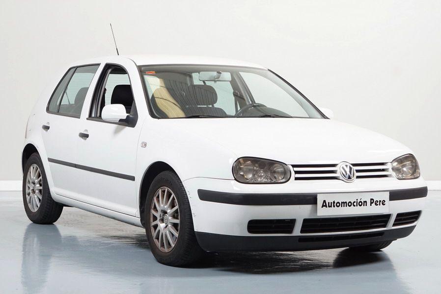 Nueva Recepción: Volkswagen Golf IV 1.9 TDI 90CV Conceptline. Único Propietario. Pocos Kms. Revisiones Oficiales.