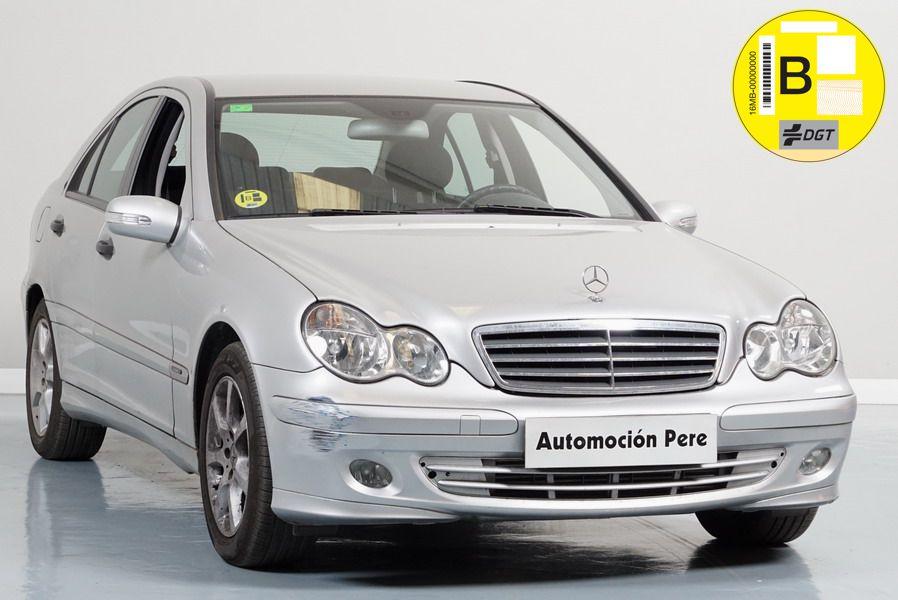 Nueva Recepción: Mercedes Benz C200 Kompressor Classic Automático/Sec. Único Dueño. Pocos Kms. Revisiones Selladas.