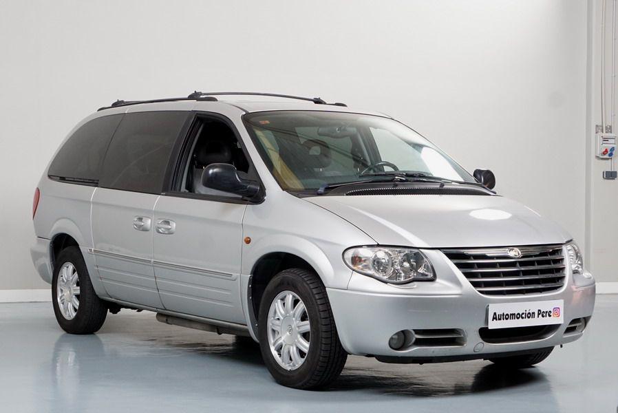 Nueva Recepción: Chrysler Grand Voyager 2.8 CRD Aut Limited 7 Plazas Solo 94.000 Kms. Revisiones Selladas. Impecable!