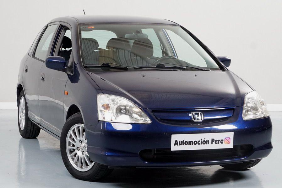 Honda Civic 1.7 CDTi LS. Solo 48.000 Kms. Único Propietario. Revisiones Selladas.