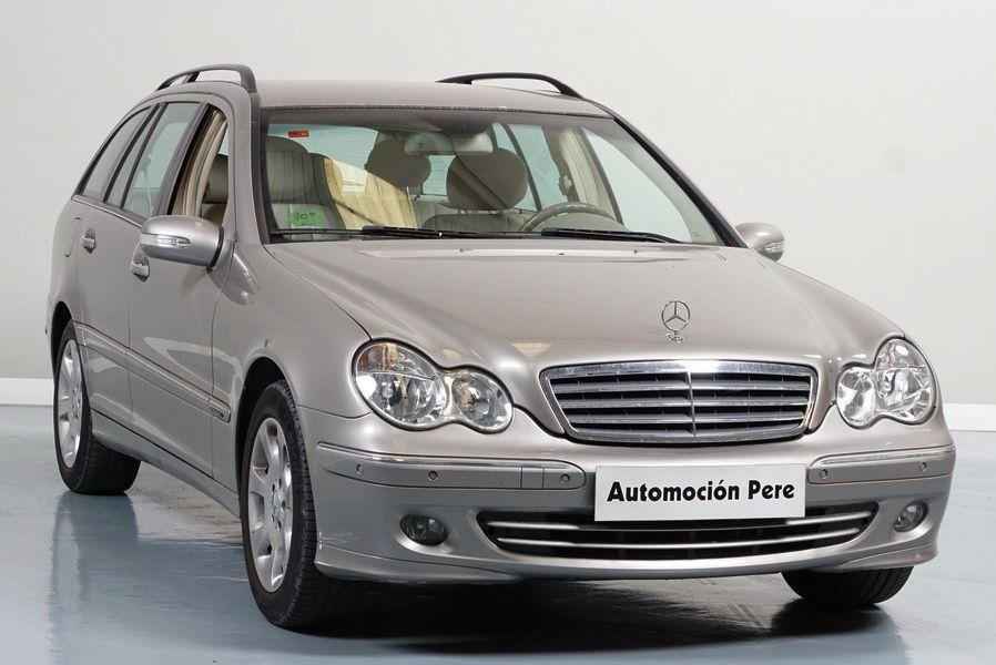 Mercedes Benz C280T 4 Matic Automático/Sec Elegance. Único Propietario. Pocos Kms. Revisiones Oficiales.