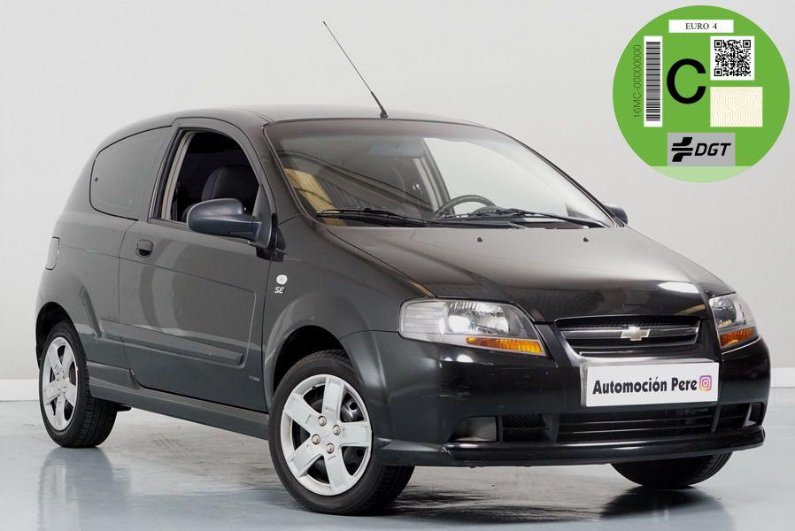 Chevrolet Kalos 1.2i 72 CV SE. Solo 49.724 Kms. Revisiones Selladas, Garantía 12 Meses.