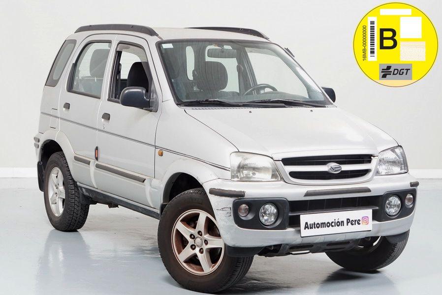 Nueva Recepción: Daihatsu Terios 1.3 CX 85CV 4x4. Pocos Kms. Único Propietario. Revisiones Selladas,.