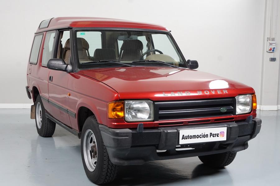 Nueva Recepción: Land Rover Discovery 2.5 TDi 4x4. Único Propietario! Pocos Kms, Impecable.