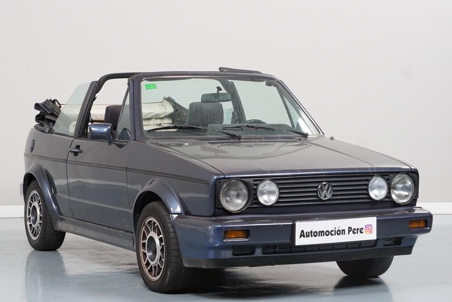 Nueva Recepción: Volkwagen Golf 1.6i Cabrio Karman. Pocos Kms. Revisiones Selladas.